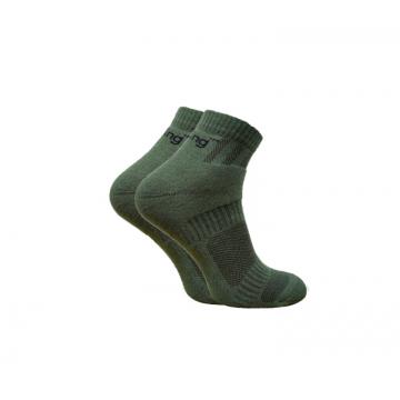 Носки Trekking ShortDemi унисекс темно-зеленые