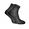 Шкарпетки Trekking ShortDry унісекс чорні