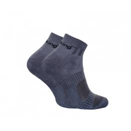 Шкарпетки трекінгові демісезонні Trekking ShortDemi унісекс сірі