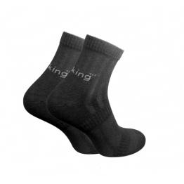 Шкарпетки трекінгові літні Trekking ShortLight унісекс чорні