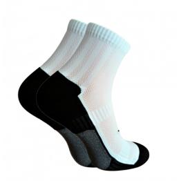 Шкарпетки функціональні Trekking ShortDry унісекс чорно-білі