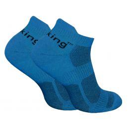 Носки трекинговые Trekking LowLight унисекс сине-черные