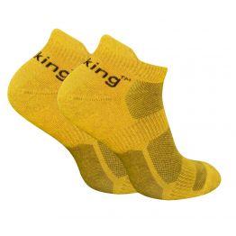 Носки трекинговые Trekking LowLight унисекс желто-черные