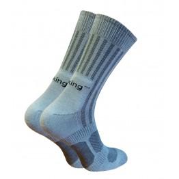 Шкарпетки трекінгові літні Trekking MidLight унісекс світло-сірі