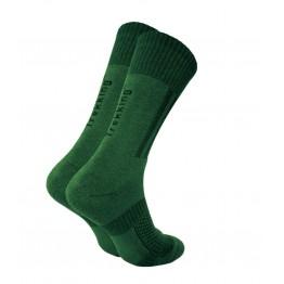 Шкарпетки трекінгові демісезонні Trekking MiddleDemi унісекс темно-зелені