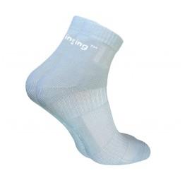 Шкарпетки трекінгові демісезонні Trekking ShortDemi унісекс світло-сірі