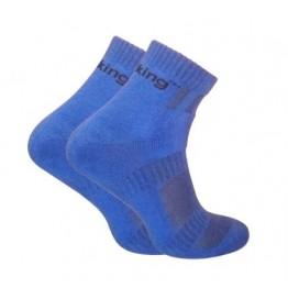 Шкарпетки трекінгові демісезонні Trekking ShortDemi унісекс сині