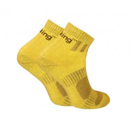 Шкарпетки трекінгові демісезонні Trekking ShortDemi унісекс жовті