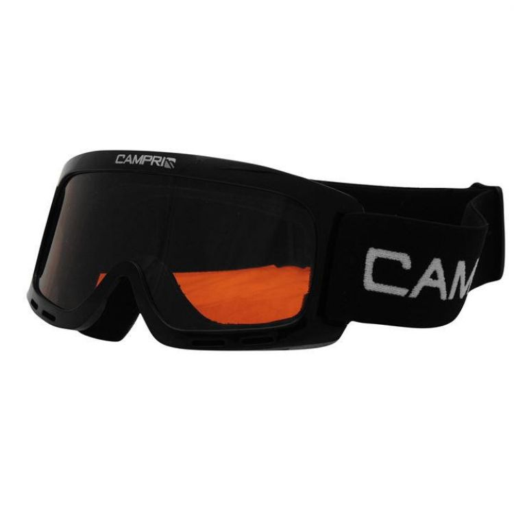 Маска гірськолижна Campri Star Goggle дитяча чорна 951f24bec0f94