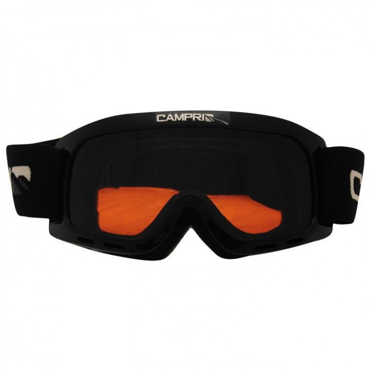 Маска гірськолижна Campri Star Goggle дитяча чорна 4c6a3e56ad61f