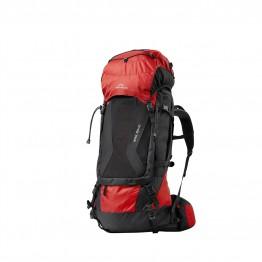 Рюкзак Fjord Nansen Himil 60+10 Solid красный/черный