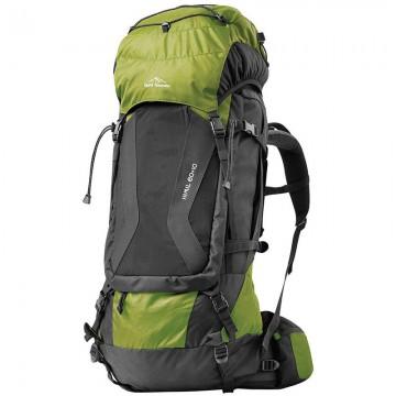 Рюкзак Fjord Nansen Himil 60+10 Solid зелений/чорний