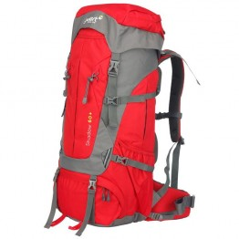Рюкзак Gelert Shadow 60+5  червоно-сірий