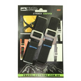 Стяжка Travel Extreme EasyFix (2м) чорна
