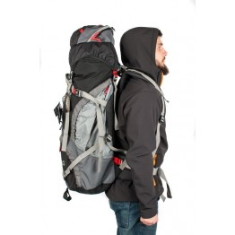 Рюкзак Travel Extreme Denali 70 черный / красный