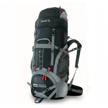 Рюкзак Travel Extreme Denali 70  чорний/червоний
