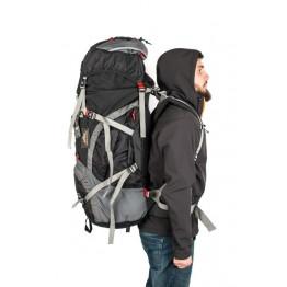 Рюкзак Travel Extreme Denali 85 черный / красный