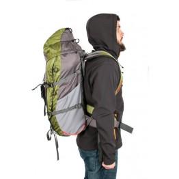 Рюкзак Travel Extreme Spur Zip 42 серый / зеленый