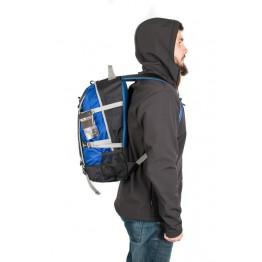 Рюкзак Travel Extreme Time 23  чорний/синій