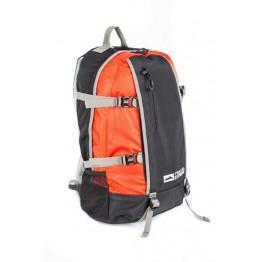 Рюкзак Travel Extreme Time 23  чорний/червоний