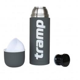 Термос Tramp Soft Touch TRC-109 1 л сірий