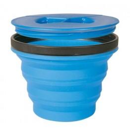 Кружка складная с крышкой Sea to Summit X-Seal & Go Medium Royal Blue