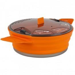 Кастрюля с алюминиевым дном Sea To Summit X-Pot Orange 1.4 L