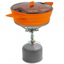 Каструля з алюмінієвим дном Sea To Summit X-Pot Orange 1.4 L