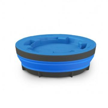 Миска складная с крышкой Sea to Summit X-Seal & Go X-Large синяя