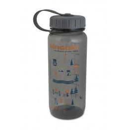 Фляга пластиковая Pinguin Tritan Slim Bottle 0.65 L Grey