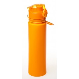 Фляга силиконовая складная Tramp 700 мл оранжевая