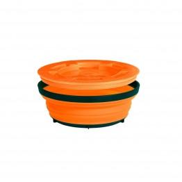Миска складная с крышкой Sea to Summit X-Seal & Go Large оранжевая