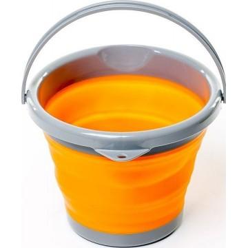 Ведро складное силиконовое Tramp TRC-091 10л оранжевое