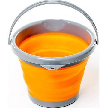 Ведро складное силиконовое Tramp TRC-092 5L оранжевое