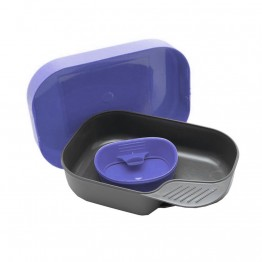 Набір посуду WILDO CAMP-A-BOX BASIC чорничний