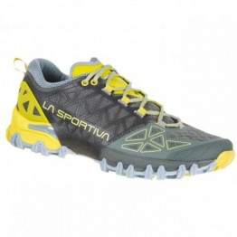 Кроссовки La Sportiva Bushido II женские серые/желтые