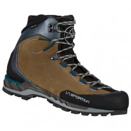 Ботинки La Sportiva Trango Tech Leather GTX Wood/Space blue мужские коричневые/синие