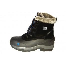 Ботинки Karrimor Snow Fur детские черный / синий