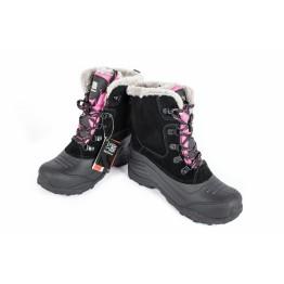 Черевики Karrimor Snow Fur дитячі чорний/рожевий