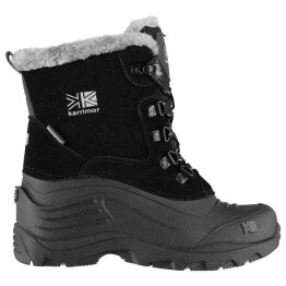 Черевики Karrimor Snow Fur 2 дитячі чорні