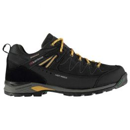 Кроссовки Karrimor Hot Rock Low мужские charcoal / yellow