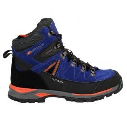Кросівки Karrimor Hot Rock Mid чоловічі сині/помаранчеві