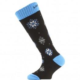 Носки Lasting SJA детские черные/синие