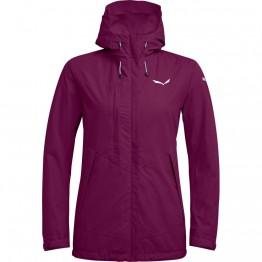 Куртка Salewa Puez Clastic PTX 2L Wmn женская фиолетовая
