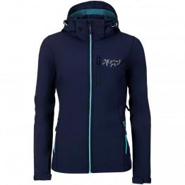 Куртка Alpine Pro Nootka 5 жіноча синя