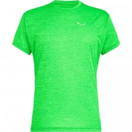 Футболка Salewa Puez Melange Dry мужская зеленая