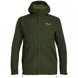 Куртка Salewa Puez Clastic PTX 2L мужская зеленая