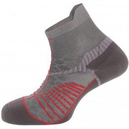 Шкарпетки Salewa Ultra Trainer сірі/червоні