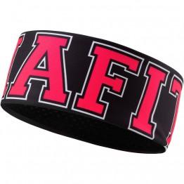 Повязка Dynafit Performance Warm Headband черная/красная