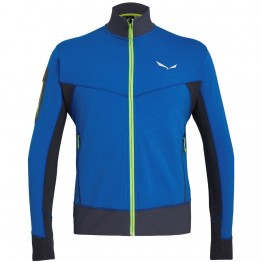 Фліс Salewa Ortles Stretch Hybrid Mns Jacket чоловічий синій